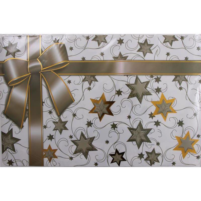 tischset aus kunststoff geschenk mit schleife 2 95. Black Bedroom Furniture Sets. Home Design Ideas