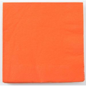 Party-Servietten Orange